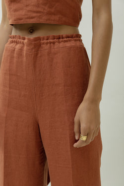 Gathered Trousers