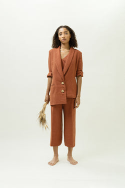 The Asymmetric Blazer | Rust