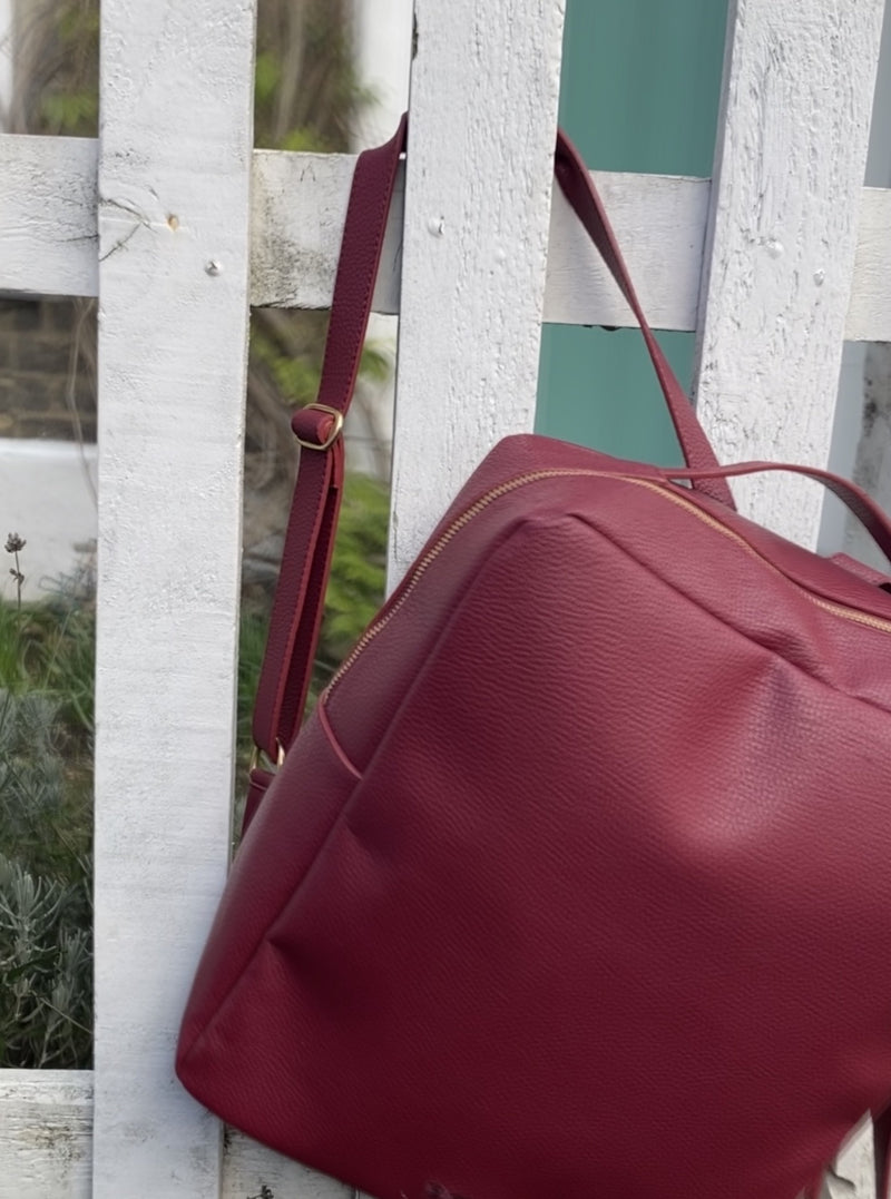 Islington Backpack - Red Wine