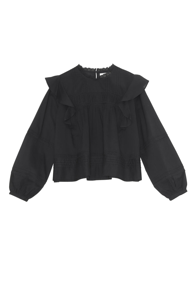 Jasmine Blouse - Black