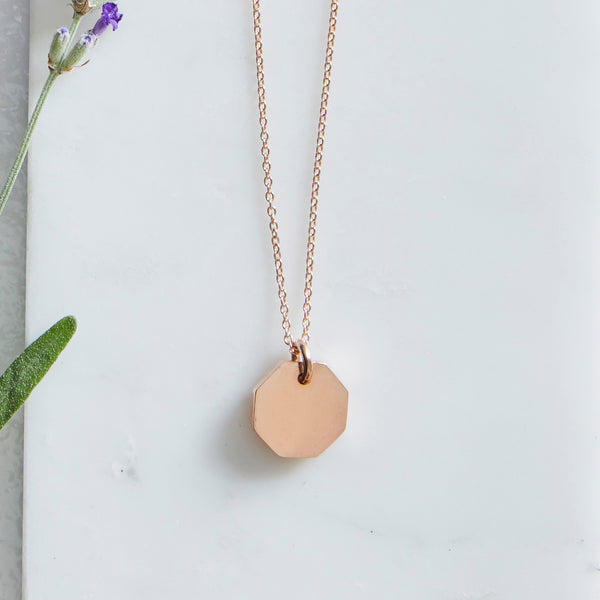 Otto Necklace Rose Gold