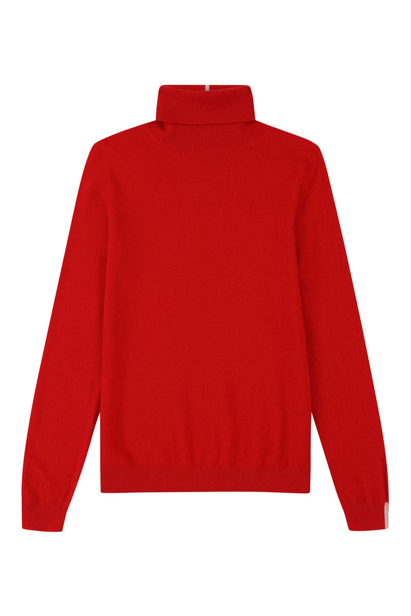 Cashmere Polo Neck