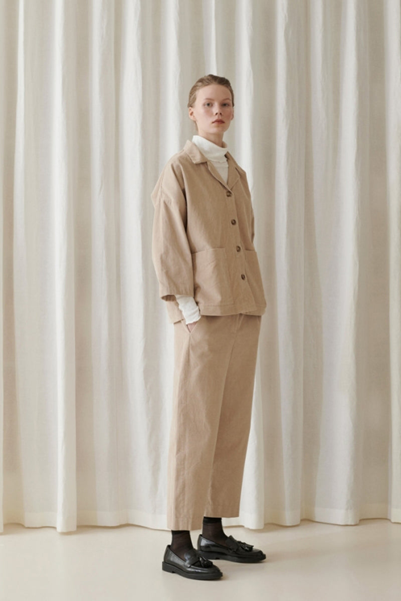 Karen Pants - Warm Beige