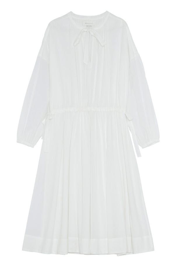 Lyre Dress - White