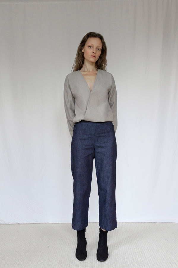 """The Marshes"" Dark Blue Denim Trousers"