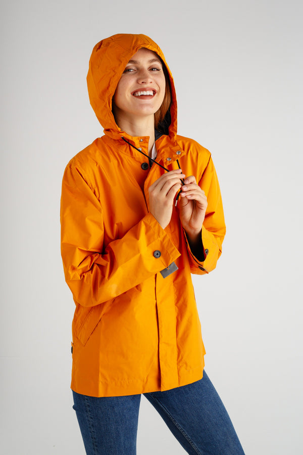 The Meander Jacket - Orange