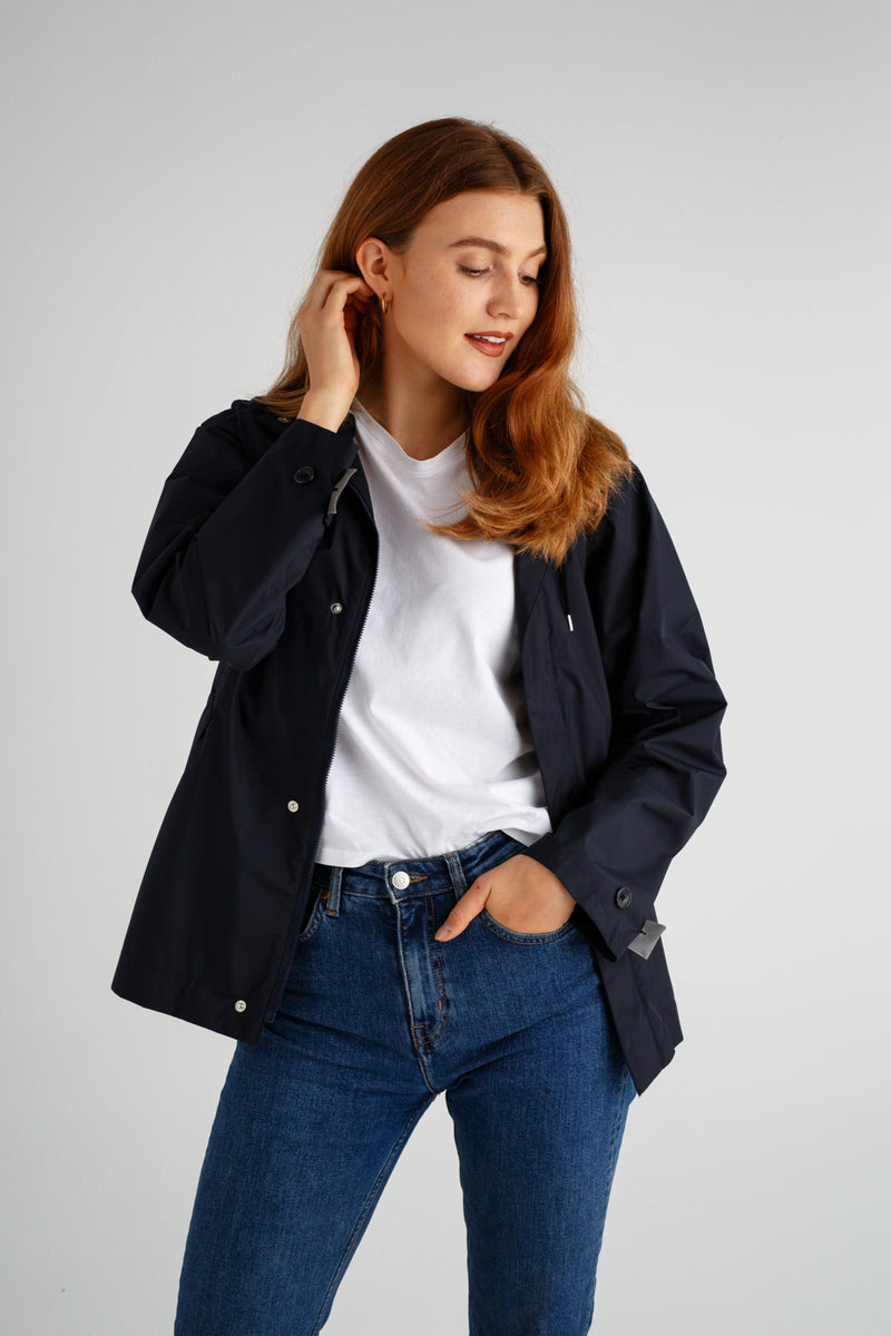 The Meander Jacket - Navy