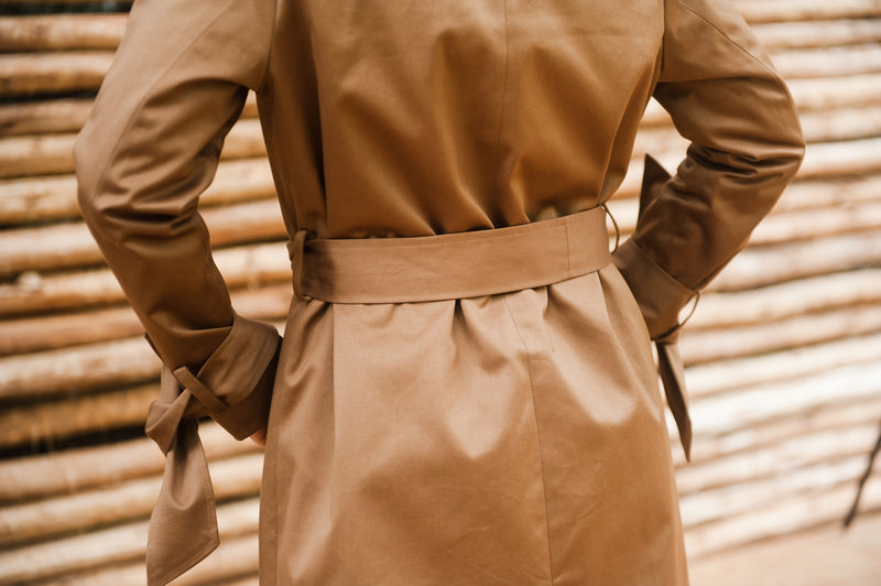 Caramel Trench Coat