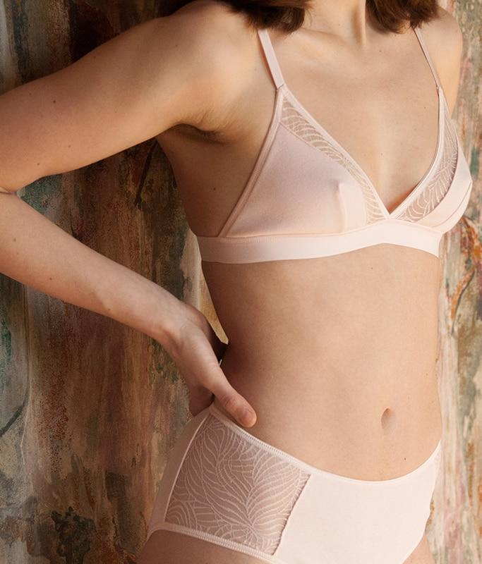 Savannah Bra - Light Pink