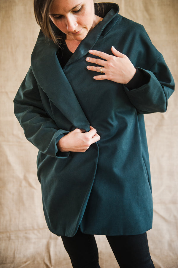 Moyo Green Coat