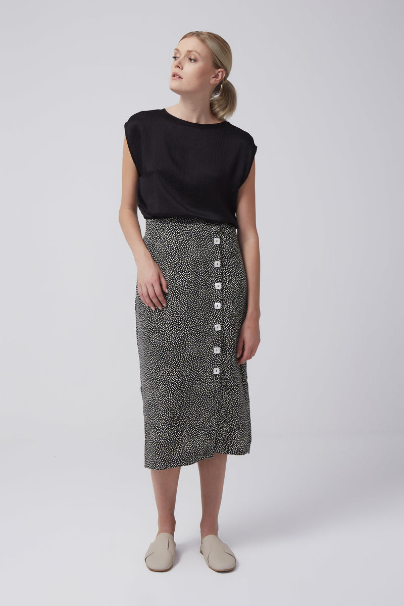 Dotty Envelope Skirt