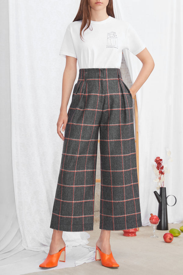 Andy Culottes Dark Grey