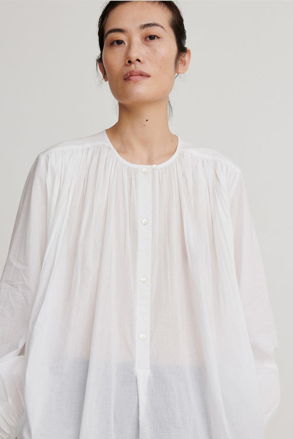 Shiro Blouse White