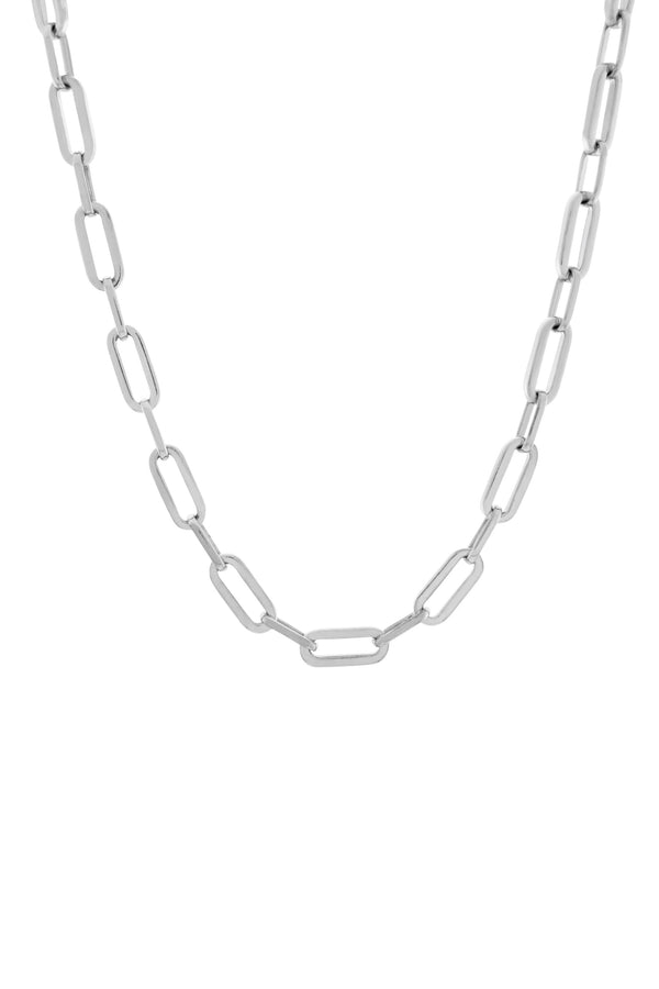 Suitor Chain Necklace. Sterling Silver.