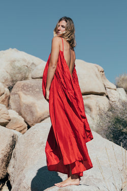 Syros Silk - Wild Heart Red