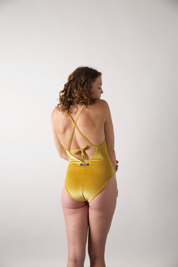 Mazie Swimsuit Velvet Sunshine