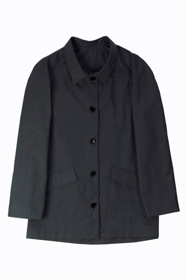 Ventile waterproof trench jacket – charcoal grey