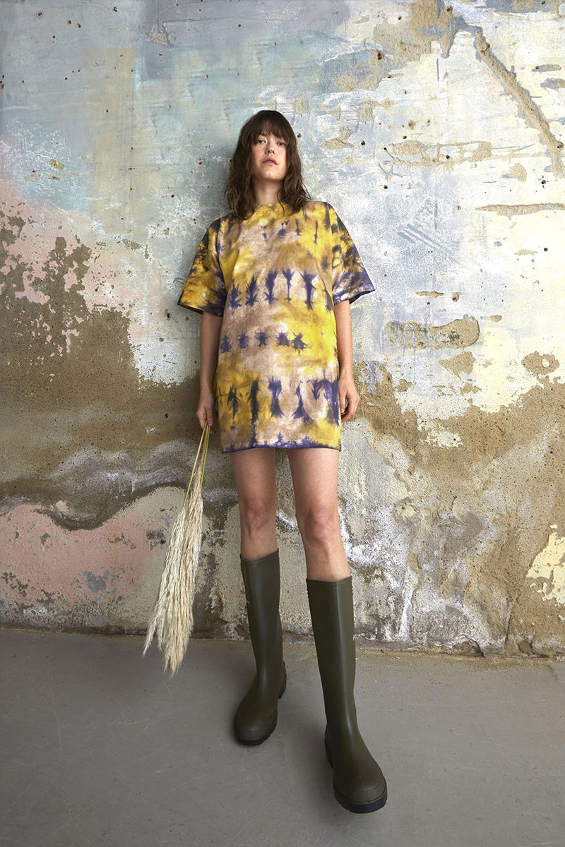 OVERSIZED TIE DYE TSHIRT DRESS