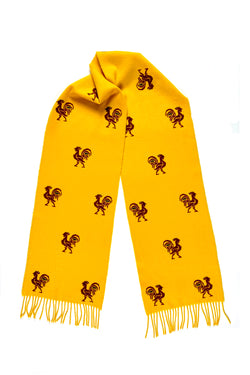 Rooster Cashmere Scarf