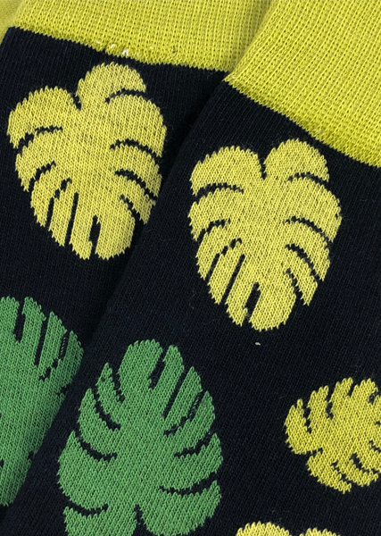 Monstera Sock