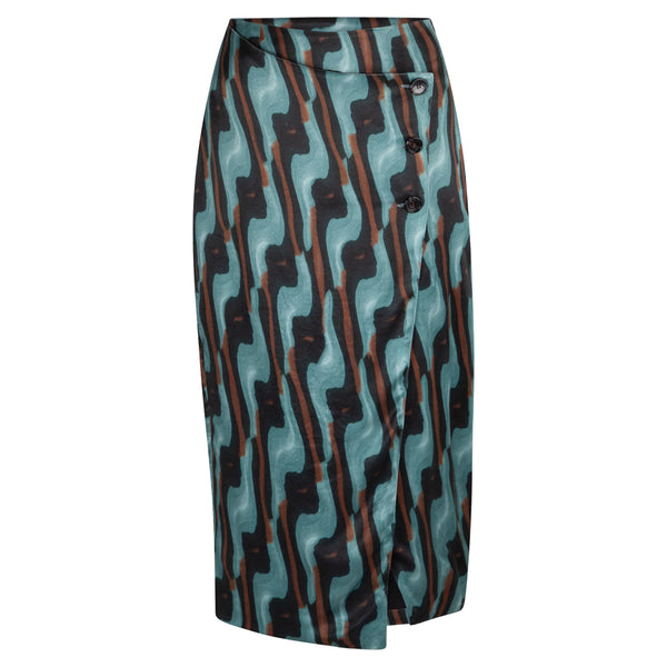 Lense Art Sea Green Skirt