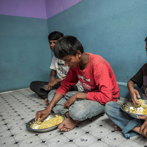 Food For One Year for a Street Child in Nepal