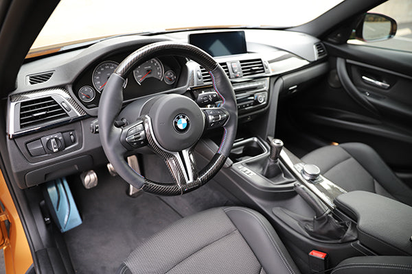 BMW F8X (M2 / M3 / M4 ) Carbon Fiber Steering wheel