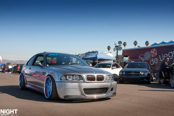 2004 BMW M3 Equipped with SGT-SRS Coilovers