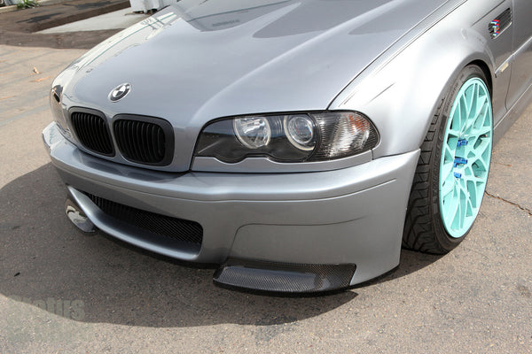SGT CSL Bumper (shaved version) mounted on our 03.5 M3