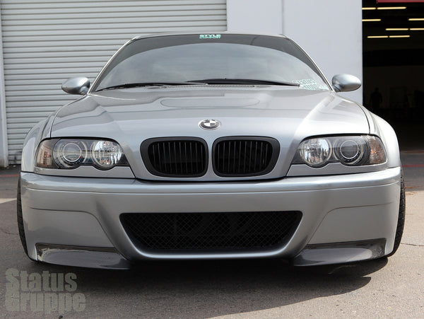 "BMW E46 M3 ""CSL Style"" Front Bumper 