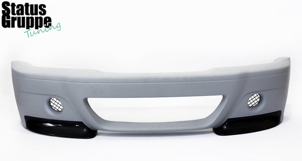 "BMW E46 M3 ""CSL Style"" Front Bumper. Dual Hole Version Pictured"