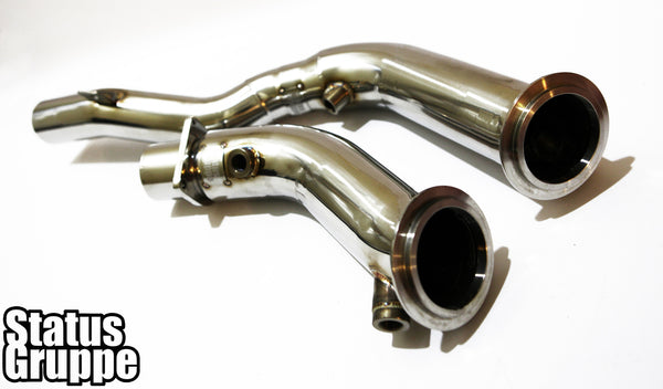 "BMW F8X M3/M4 15-16 S55 ""Cat-less"" Downpipes"