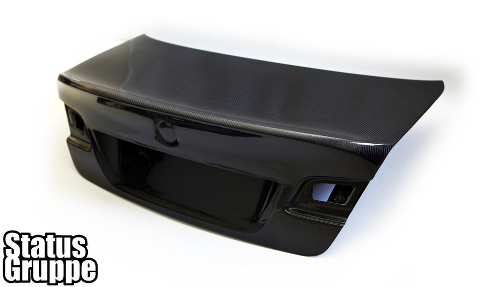 Bmw E92 Quot Csl Style Quot Cf Trunk Lid Status Gruppe Manufacturing Inc
