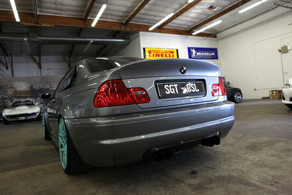 SGT-SCZA FRP CSL Trunk Mounted on 03.5 M3 (*Note: Keyhole is shaved on this trunk)