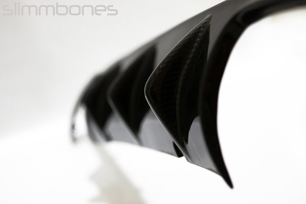 "BMW E39 M5 97-03 ""Finned"" Rear Diffuser by Slimmbones"