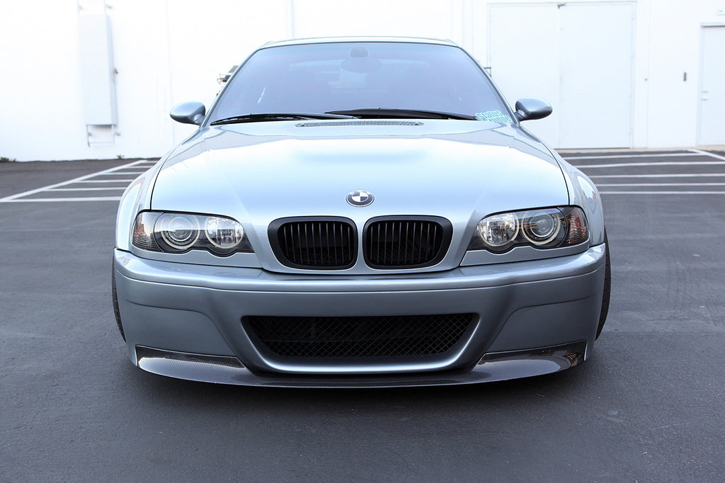 Bmw E46 M3 Csl Style Front Bumper Status Gruppe Manufacturing Inc