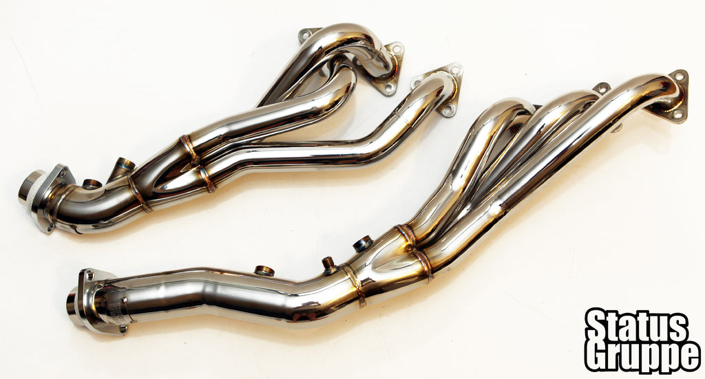 Bmw S54 Stainless Steel Cat Less Headers