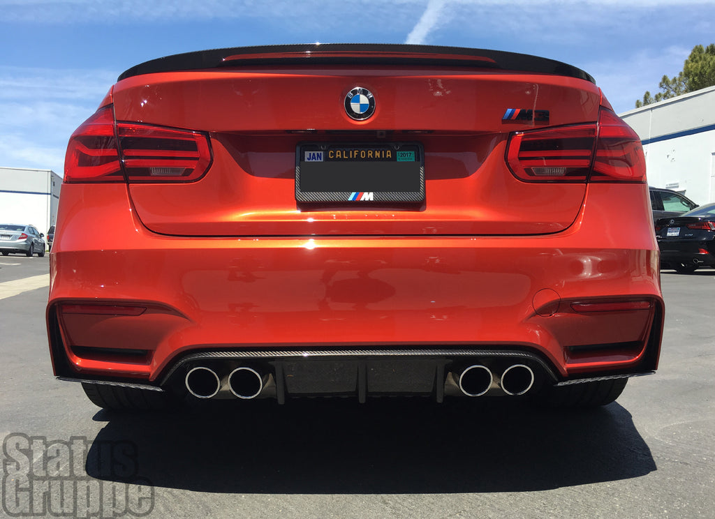 Bmw F80 M3 F82 83 M4 Cf Rear Bumper Extension Status