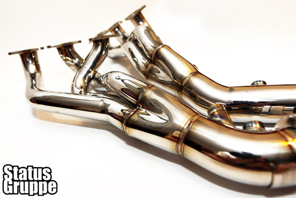 "BMW S54 Stainless Steel ""Cat-less"" Headers"