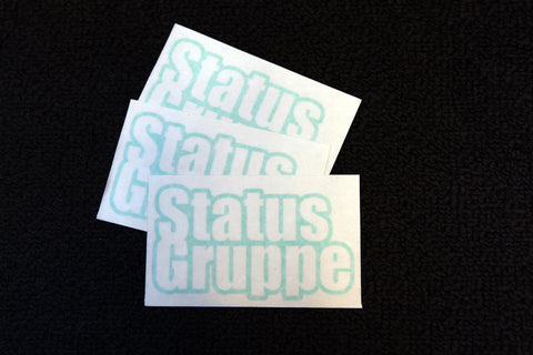 "Status Gruppe ""Outline"" Stickers"