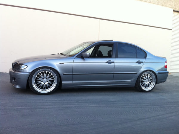 2005 BMW 325i Equipped with SGT-SRS Coilovers