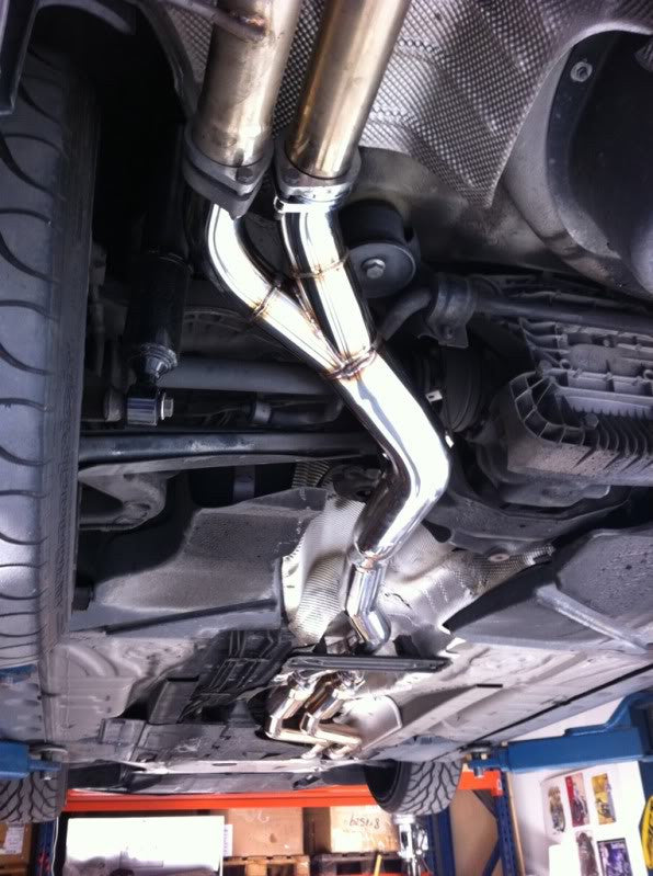 Bmw E46 M3 Section 2 X Pipe Status Gruppe Manufacturing Inc