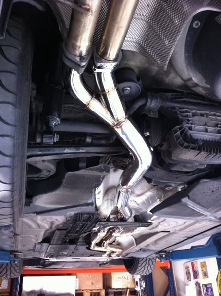 2001-06 BMW E46 M3 SGT Non-Resonated X-Pipe Section 2