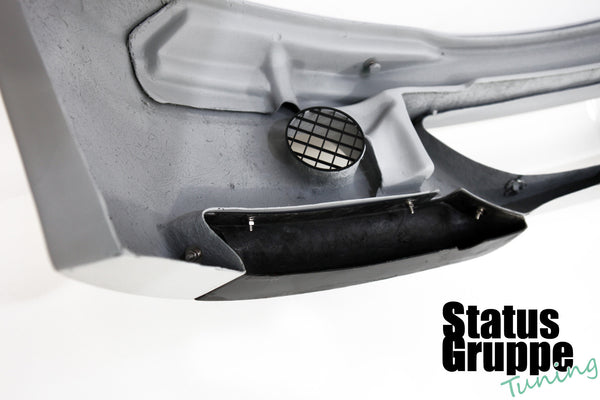 "BMW E46 M3 ""CSL Style"" Front Bumper. Standard Version Pictured with add on OEM CSL intake grill"