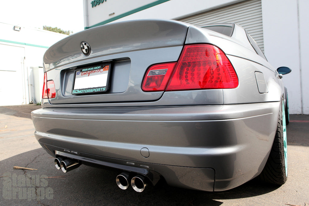 "BMW E46 M3 ""CSL Style"" Rear Diffuser 