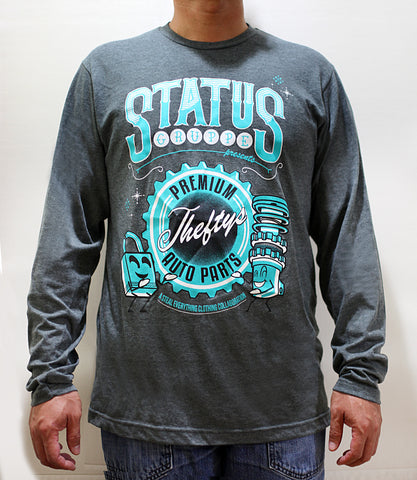 "Status Gruppe ""Theftys Auto Parts"" Long Sleeve T-Shirt"
