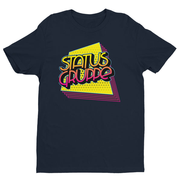 Status Gruppe 80s/90s collection shirt (Quadrilateral echo design)