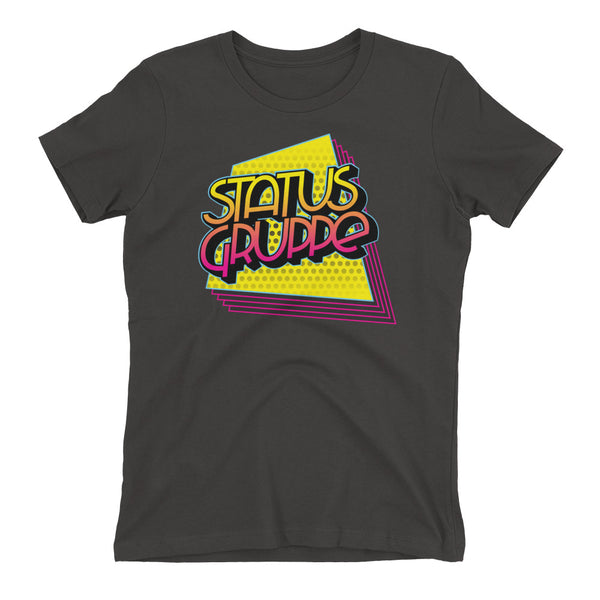 Status Gruppe 80s/90s collection Women's t-shirt (Quadrilateral echo design)