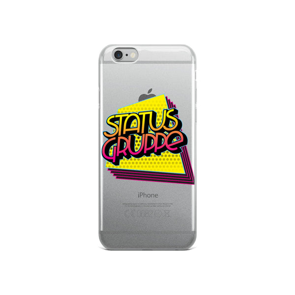 Status Gruppe Quadrilateral Echo logo iPhone Case