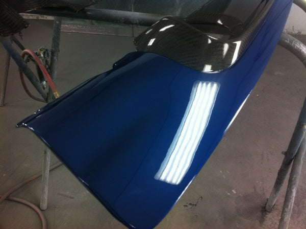 SGT CSL Rear Diffuser 2x2 CF With Paint option Mystic Blue
